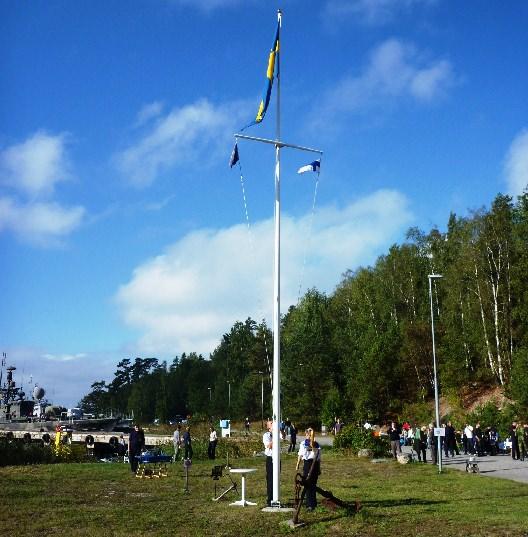 Flaggan i topp